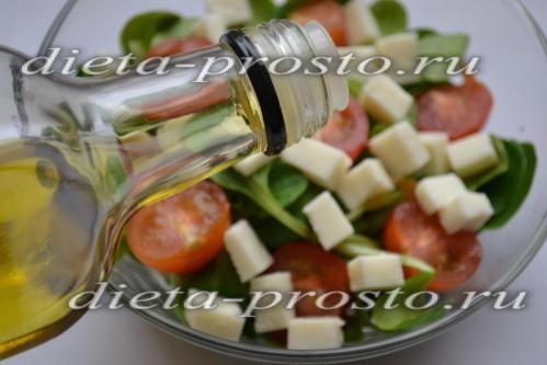 Додаємо оливкову олію