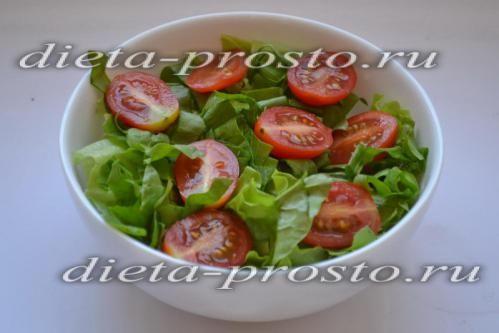 розрізаємо томати