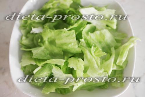 рвемо листя салату