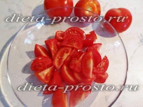 ріжемо помідори