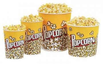 Скільки калорій в попкорн?