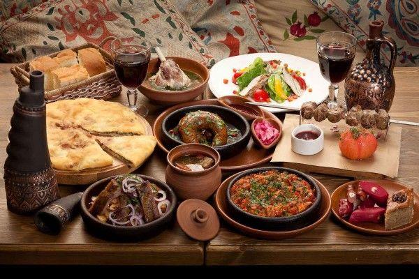 Славна грузинська кухня: фото-рецепти національних страв