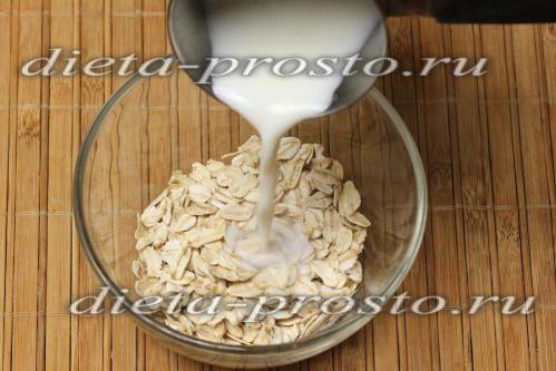 Смузі з вівсянкою «корисний сніданок»