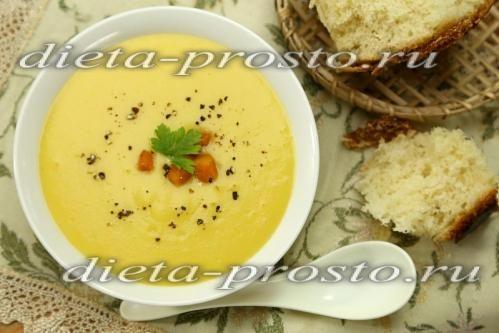 рецепт аупа-пюре з кабачків і картоплі (пісний рецепт)