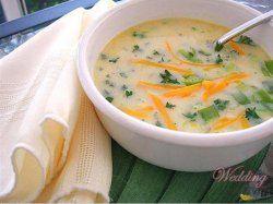 Суп з морквою, кропом і чебрецем