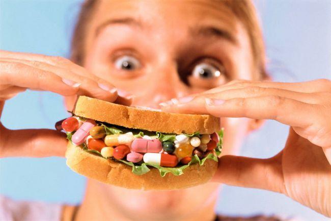 Таблетки для зниження апетиту