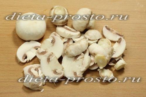 нарізати гриби