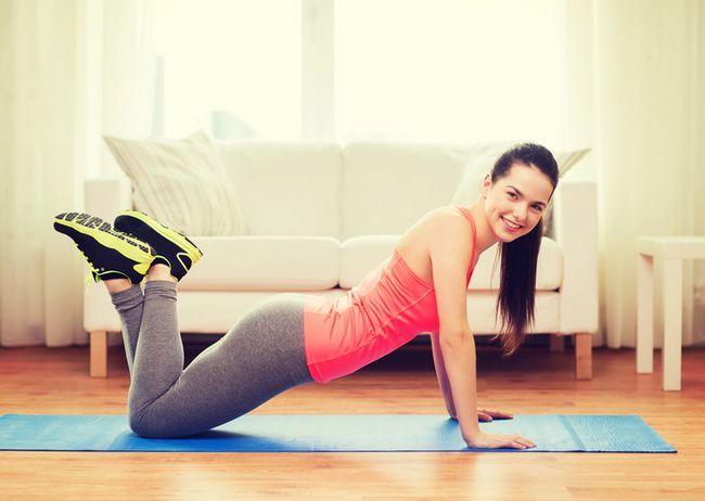Вправи для швидкого схуднення в домашніх умовах