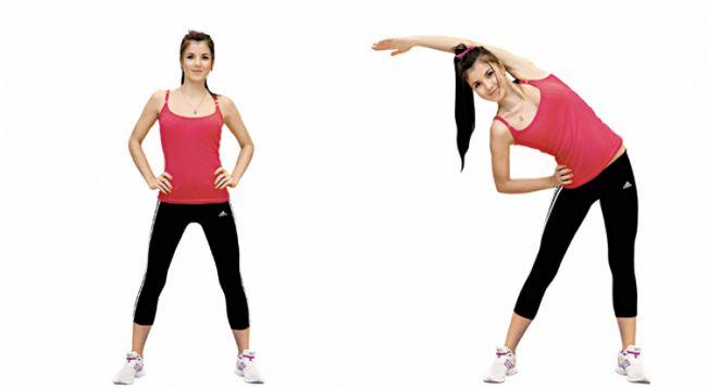Вправи для схуднення боків: відео, фото, комплекси