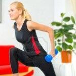 Вправи з гантелями в домашніх умовах