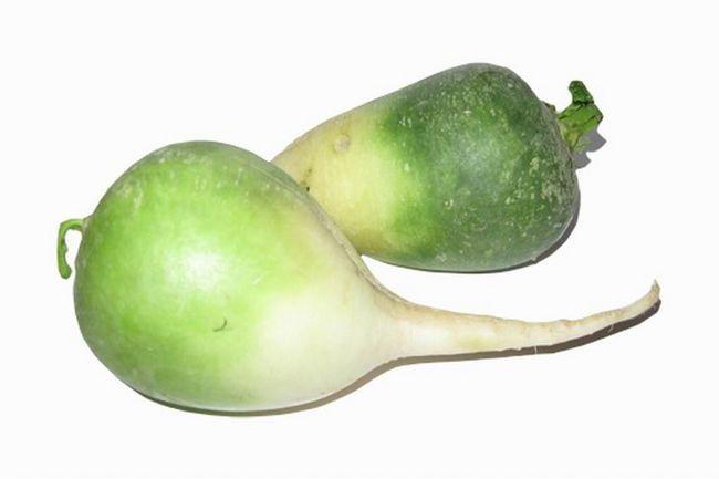 Зелена редька